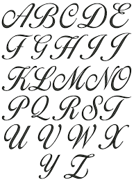 a z in vb cursive letters a z lowercase and uppercase sheet