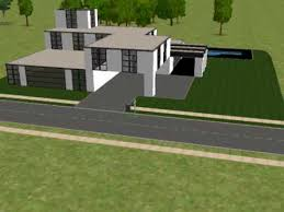 the sims 2 building a modern house part 1 avi youtube