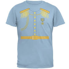 Halloween Costumes T Shirts by Amazon Com Prince Charming Costume T Shirt Clothing