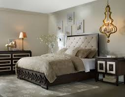Bedroom Ideas With Gray Headboard Furniture Carved Dark Brown Wooden Bed Frame Queen With Tufted