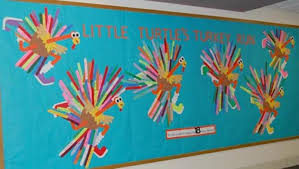 turkey run fall bulletin board idea myclassroomideas