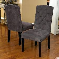 Upholstered Parsons Dining Room Chairs Upholstered Parsons Dining Chairs Grey Fabric Dining Room Chairs