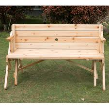 plastic convertible bench picnic table 840 032 outsunny 2 in 1 convertible picnic table garden bench