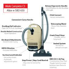 Miele Vacuum by Miele Complete C3 Alize Canister Vacuum Cleaner
