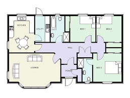 Floor Plans With Interiors