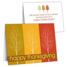 business thanksgiving cards business greeting cards