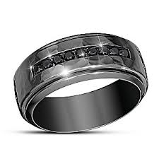 mens stainless steel rings need for speed black sapphire mens stainless steel ring