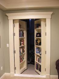 decorations shabby room interior with mini library and secret