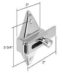 crl slide latch for restroom partitions screen door hardware