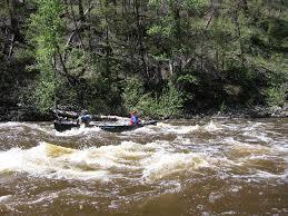 Platte River Map Six Mile Gap To Treasure Island Float