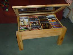 Coffee Table With Dvd Storage Dvd Storage Coffee Table 175 00 Now I Can Finslly Keep A Cleared