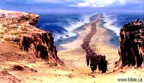 the exodus route crossing the red sea