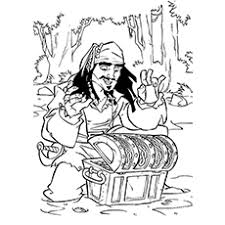 10 pirates caribbean coloring pages toddlers