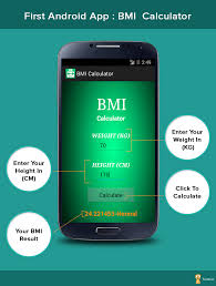 make an android app android app bmi calculator formget