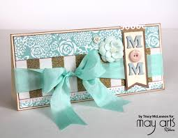 Mother S Day Greeting Card Handmade Making Mother U0027s Day Cards Ribbon Resource Online