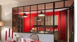 cloison vitree cuisine salon cloison verre atelier d artiste maison design bahbe com