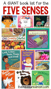books about the five senses book lists kindergarten and books
