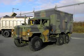 m109a4 2 5 ton truck with insulated van body