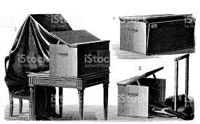appareil photo chambre ancienne gravure illustration appareil photographique de chambre
