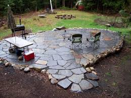 Stone Patio With Fire Pit Stone Patio Designs Fire Pit Johnson Patios Design Ideas