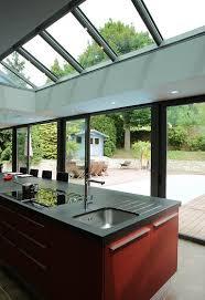 veranda cuisine photo veranda cuisine faire cuisine dans une véranda concept alu