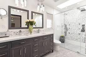 Bead Board Bathroom Beadboard Bathroom Vanity Transitional With Spot Light Cup Pulls