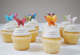 butterfly cake toppers 3d butterfly cupcake toppers paperpolaroid