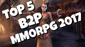 top 5 best buy to play mmorpgs 2017 youtube