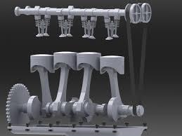 4 cylinder engine 4 cylinder engine solidworks 3d cad model grabcad