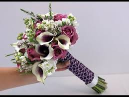 calla bouquet diy calla and bridal bouquet