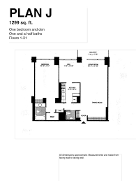 One Bedroom And A Den Info U2013 Century Tower