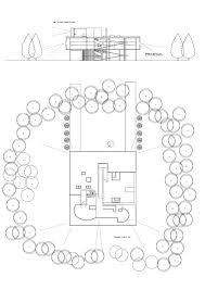 house site plan villa savoye plan relationship to parts of house arq