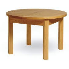 essential oak round extending dining table dining room from mdm