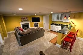 Partially Finished Basement Ideas Finished Basement Color Ideas Trendy Colors Of The Year Finished
