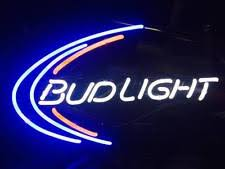bud light lighted sign collectible budweiser signs tins ebay