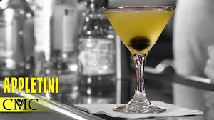 how to make the apple martini appletini vodka cocktail youtube