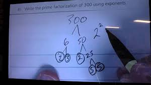 writing prime factorization using exponents youtube