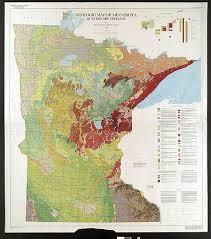 minnesota topographic map geology of minnesota