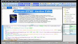 free ebay auction templates free ebay template software word processor style html editing