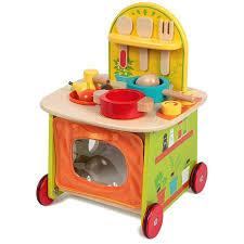 ma premi鑽e cuisine ma première cuisine en bois idee toile pour bébé et enfants