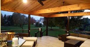 home interiors and gifts company cedar wrapped beams covered deck with cedar beams and barn siding