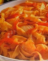 cuisiner des fenouils tagliatelles à la tomate au fenouil et au poivron cuisine