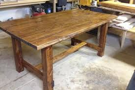 Harvest Kitchen Table by Harvest Kitchen Ideas Driving Pocket Hole Screws Into Table Base