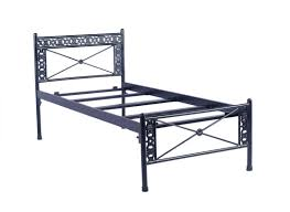 irony furniture metal single bed price in india december 2017