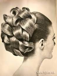 barrel curl hair pieces 60s hair pieces done up in barrel curls memories of my