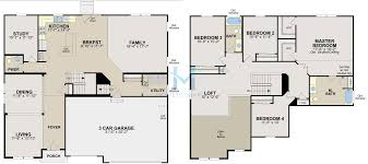 westbury model in the edgewater subdivision in shorewood illinois floor plan