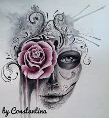 if i were to get a sugar skull would be one like this