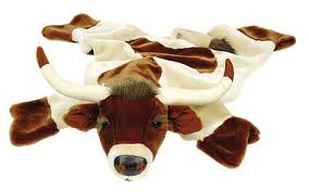 Kids Animal Rugs Carstens Longhorn Rug Plush Animals Rugs Kids Furniture