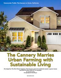 cannery featured as cover story for green home building