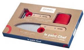 opinel le petit chef knife peeler u0026 finger guard set